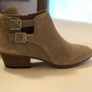 Sand Suede Ankle Booties by Clarks